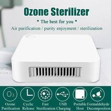Генератор озона, дезодорирующий портативный очиститель воздуха, USB Перезаряжаемый озоновый стерилизатор, машина для дезинфекции воздуха, у...