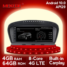 "MEKEDE 8.8 ""HD 4G + 64G أندرويد 10 سيارة راديو مشغل وسائط متعددة لسيارات BMW 5 سلسلة E60 E61 E62 E63 E64 E90 E91 E92 CCC CIC النظام(China)"