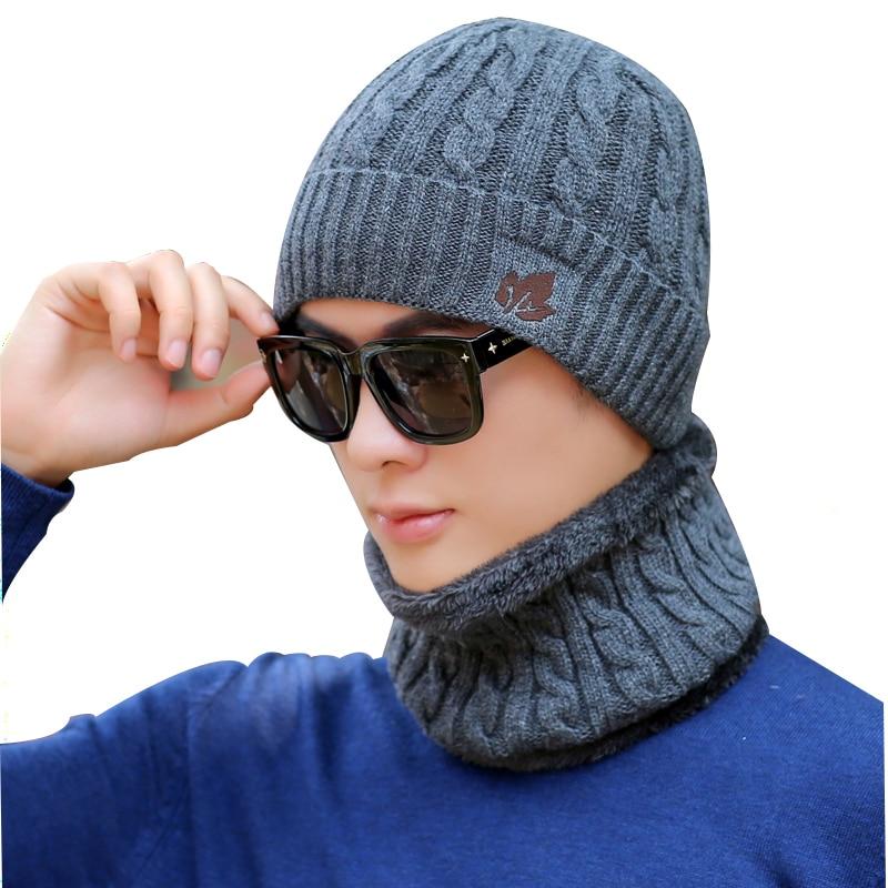 New Winter Hats Skullies Beanies Hat Winter Beanies For Men Women Wool Scarf Caps Balaclava Mask Gorras Bonnet Knitted Hat