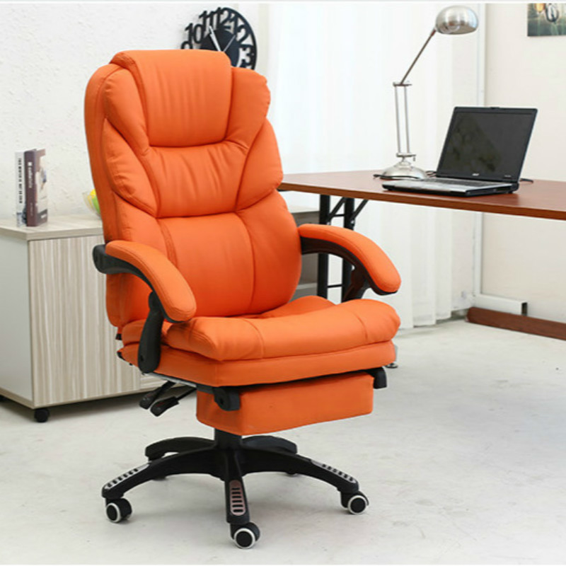 Купить с кэшбэком Soft Beauty Chair Rotating Beauty Massage Experience Stool Synthetic Leather Computer Chair Lunch Break PU Office Chair Seat