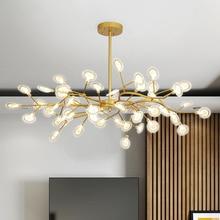 Decoración candelabro luciérnaga iluminación rama moderna lámpara Vintage sala de estar/comedor lámpara colgante suspensión