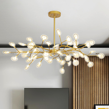 Decoration Firefly Chandelier Lighting  Modern Branch Light Fixture Vintage living Roomm/Dinning Room Hanging  Lamp