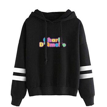 charli damelio merch Sweatshirt Men/Women Print Ice Coffee Splatter Hoodies Fashion Hip Hop hoodie Pullovers Tracksuit Clothes 13