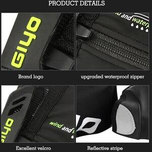 Image 4 - Housse de protection imperméable, en laine polaire, coupe vent, réfléchissante, pour le cyclisme sur route, chaussure de protection