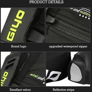 Image 4 - กันน้ำ Windproof อบอุ่นขี่จักรยานล็อครองเท้าสะท้อนแสงจักรยาน Overshoes ฤดูหนาวจักรยานรองเท้า COVER Protector