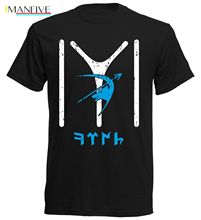 Hot Sale Summer Fashion Newest  100% Cotton T-Shirt Osmanli Kayi Boyu IYI Mens Footballer Tee Shirt for Men