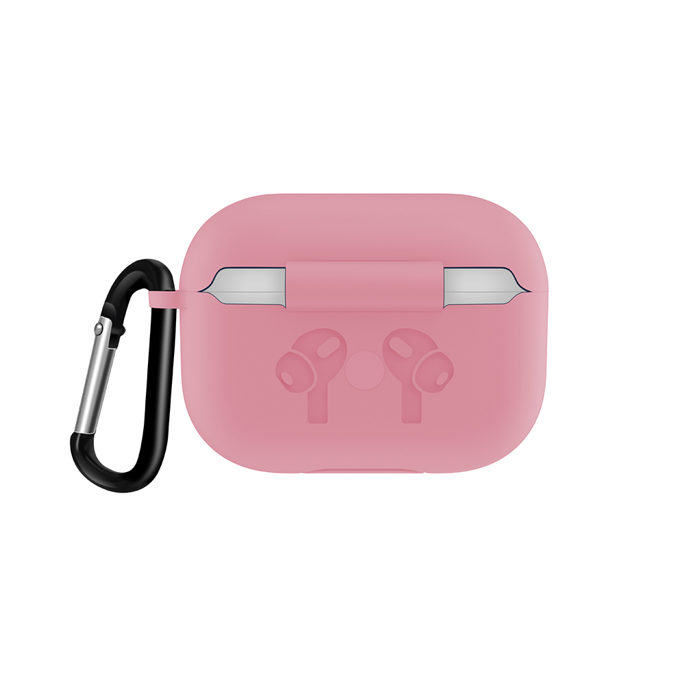 Silicone Case with Anti Lost Buckle for AirPods Pro 36