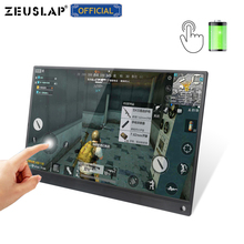 15.6inch Battery Touch Portable Monitor USB C HDMI touch screen monitor for Samsung DEX,Huawei EMUI, Laptop,Switch,PS4