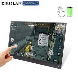 Batteria da 15.6 pollici Touch Monitor Portatile USB C HDMI monitor touch screen per Samsung DEX,Huawei EMUI, computer portatile, Interruttore, PS4