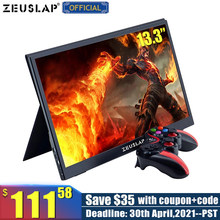 13.3inch USB C HDMI-Compatible 1920*1080P PD HDR Portable Monitor For SWITCH PS4 Macbook Pro Portable Screen Gaming Monitor