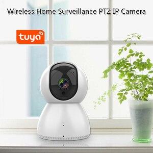 Image 5 - Tuya 433MHz Wifi 3G 4G Home Burglar Security Alarm System,Apps Control Wireless Alarm Host Kit With Ptz IP Camera Baby Monitor