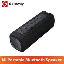 Xiaomi Mi-Altavoz Bluetooth 5,0, reproductor de música portátil con TWS, conexión 13h IPX7, impermeable, sonido de alta calidad, 16W