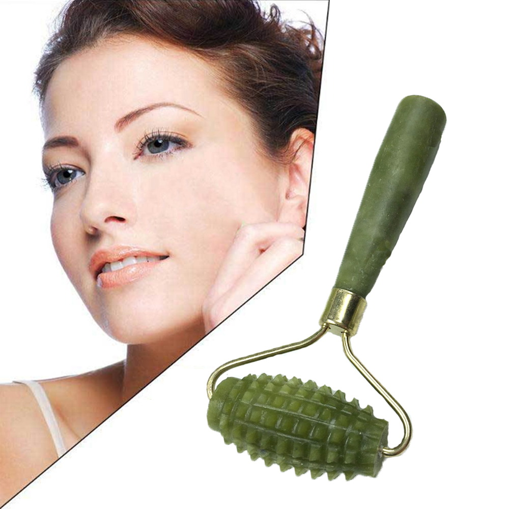 Massager face relaxing whole body skin and slimming jade roller Natural Facial Massage beauty roller Relieve sagging thinner image