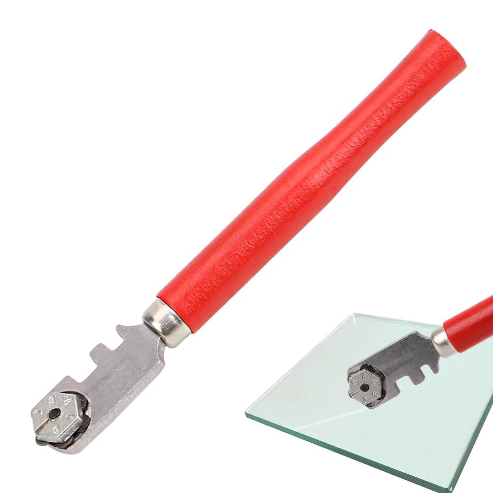1 шт. поделки для окна профессиональный резак для стеклянной плитки для ручного инструмента 130 мм Алмазный нож для стекла инструменты портат...