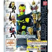 Originele Bandai Kamen Rider Anthem No.1 3 Zi O Nul Een Gashapon Figuur Set