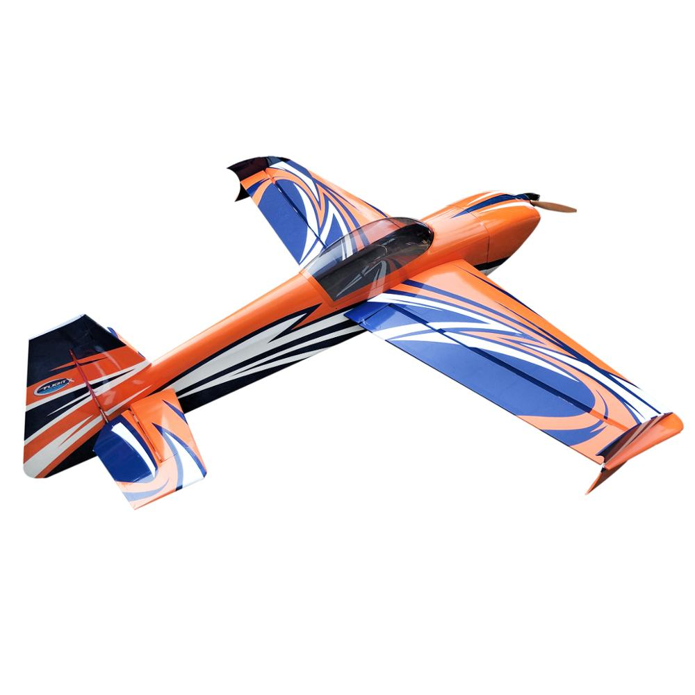 FLIGHT Votec 322 76 35-40cc Gasoline RC Airplane Wooden Fixed Wing Model Aircraft image