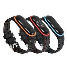 Силиконовый браслет для amazfit band 5 mi спортивные часы с