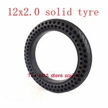 Молния 12*2,0 твердые шины сотовые шины 12x2,0 бескамерные шины детские скутеры велосипедные шины