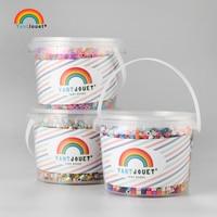 Yantjouet 5 ミリメートルビーズ 3500 ピース/ロット 20 色 + 鉄ビーズ子供のための浜ビーズ diy パズル高品質 perler 手作りギフトおもちゃ