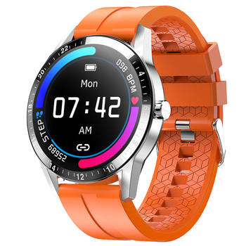цена на G20 Full Touch Smart Watch Men Business Style Heart Rate Monitor Smartwatch IP67 Bluetooth Calling For Android IOS Phone