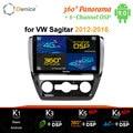 Ownice DSP carplay 10,1 zoll Android 9,0 Auto DVD Radio mit GPS 4G Bluetooth für Volkswagen VW SAGITAR 2012 2013 2014 2015 2016
