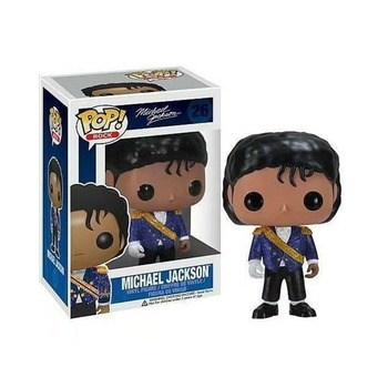 FUNKO POP Michael Jackson Beat It Action Figure Toys 10CM PVC Collectable Model for Kids Chritsmas Birthday Gifts 3