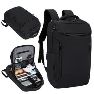 Рюкзак для ноутбука, 16 дюймов, мужской, для офиса, мужской рюкзак, бизнес, для улицы, сумка унисекс, черный, Сверхлегкий, для путешествий, тонк...