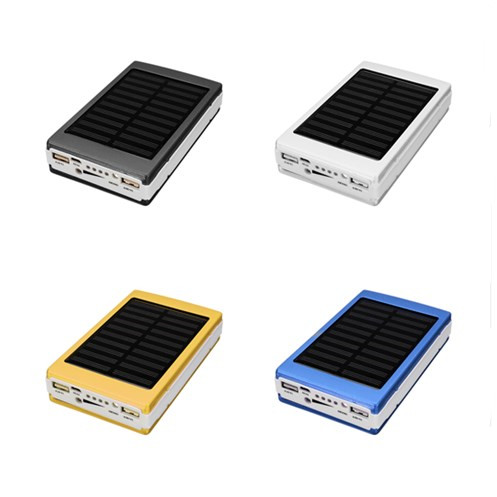 Mobile power 5x18650 External Battery Charger DIY Box Case J2 DIY sets of materials Solar LED Portable Dual USB Power Bank