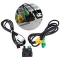 Автомобильный USB AUX-переключатель  адаптер проводов и кабелей для BMW 3 5 серии E87 E90 E91 E92 X5 X6