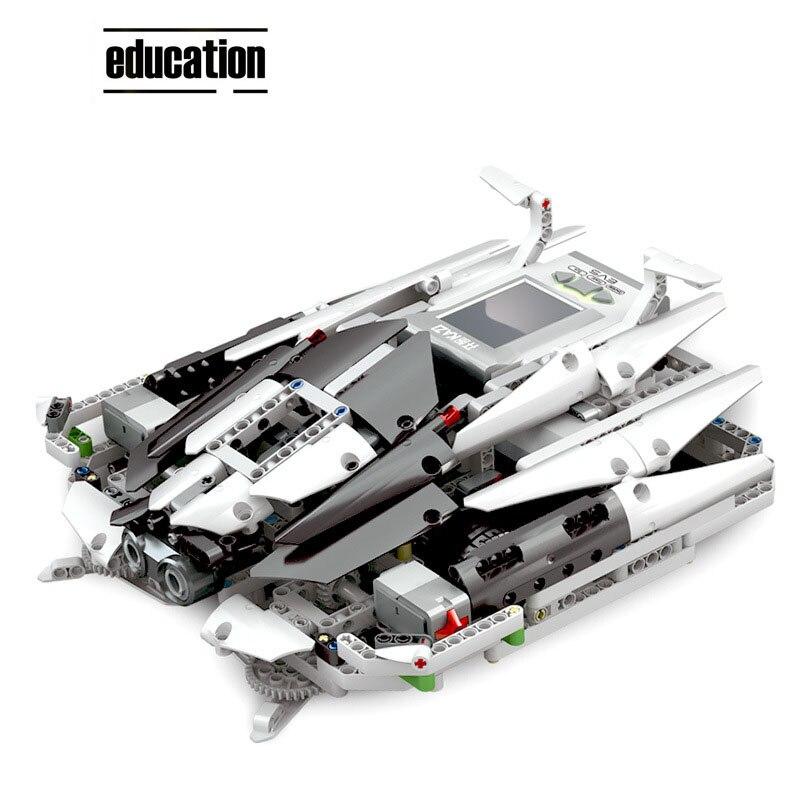 Image 3 - EV3 COMPATIBLE LOGOING 31313 45544 SCIENCE AND EDUCATION BUILDING BLOCK ROBOT CREATIVE PROGRAMMING INTELLIGENT APP PROGRAM TOYSBlocks   -