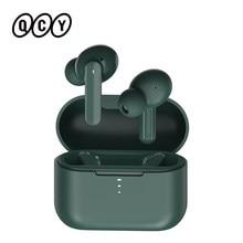 Qcy T10 Bluetooth Draadloze Hoofdtelefoon Dual-Anker In-Ear Oordopjes App Intelligente Controle 4 Microfoon Ruisonderdrukking