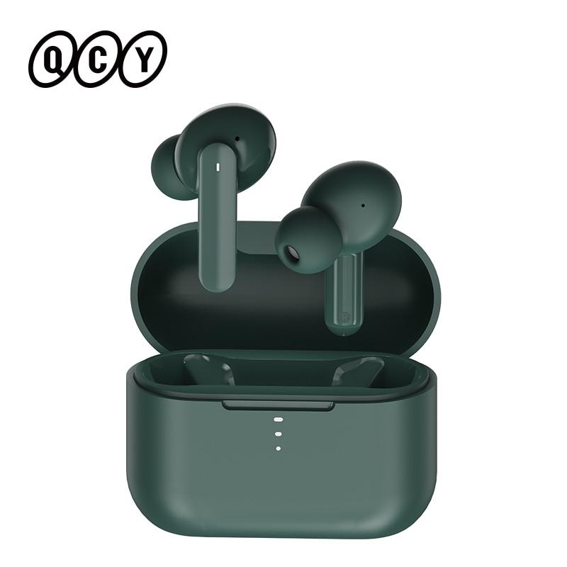 Qcy T10 bluetoothワイヤレスヘッドフォンデュアルアーマチュアin 耳イヤホンアプリインテリジェント制御4マイクノイズリダクション|Bluetooth イヤホン & ヘッドホン| - AliExpress