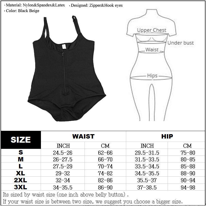 Image 5 - Reductoras Colombianas Post Surgery Slim Women Girdle Body Shaper LATEX Corset Shapewear Waist Trainer Slip Suit Powernet-in Bodysuits from Underwear & Sleepwears