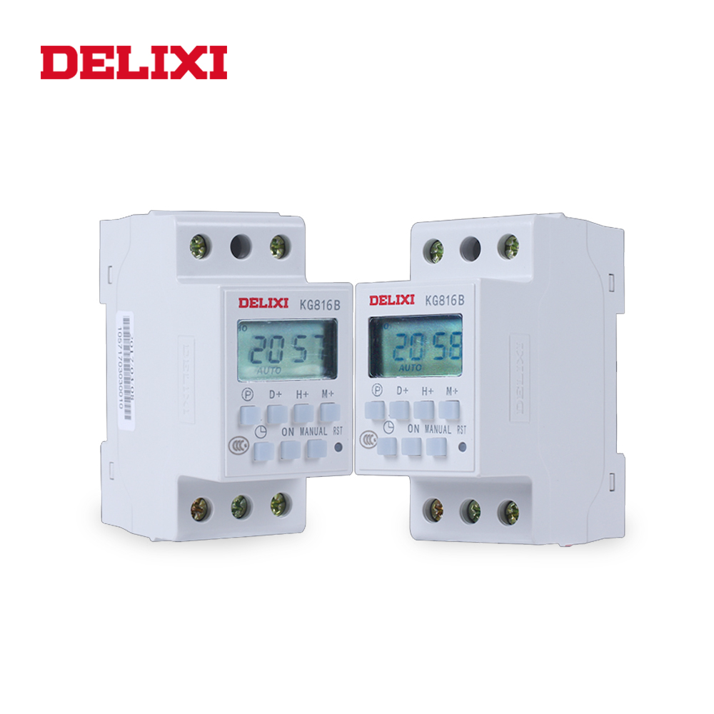 Programmable Timer AC 220V 240V 16A Relay Switch Industrial Light Control LCD