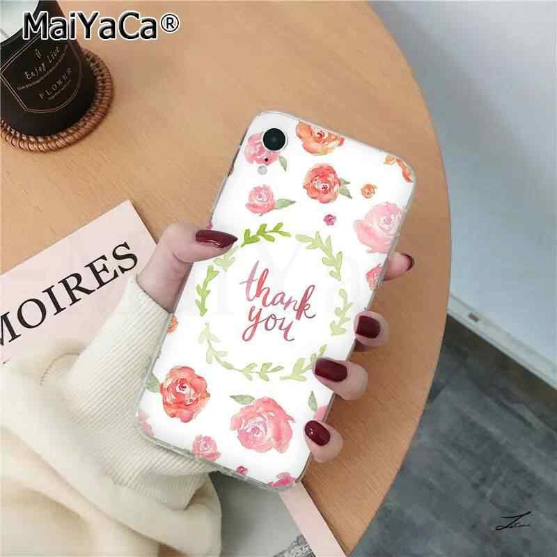 MaiYaCa הלו יש אביב פרח נוצת טלפון מקרה עבור iphone SE 2020 11 פרו XS מקסימום 8 7 6 6S בתוספת X 5 5S SE XR