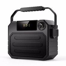 مكبر صوت كبير سمّاعات بلوتوث عالية الطاقة المحمولة الثقيلة باس مكبرات صوت خارجية لاسلكية مضخم صوت التحكم عن بعد FM MIC TF USB