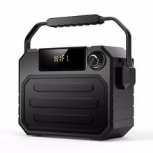 Big Speaker Bluetooth Speaker High Power Portable Heavy Bass Wireless Outdoor Speakers Subwoofer Remote Control FM MIC TF USB