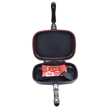 32/36/40/44cm Double Sided Grill Pan Portable Durable for Gr