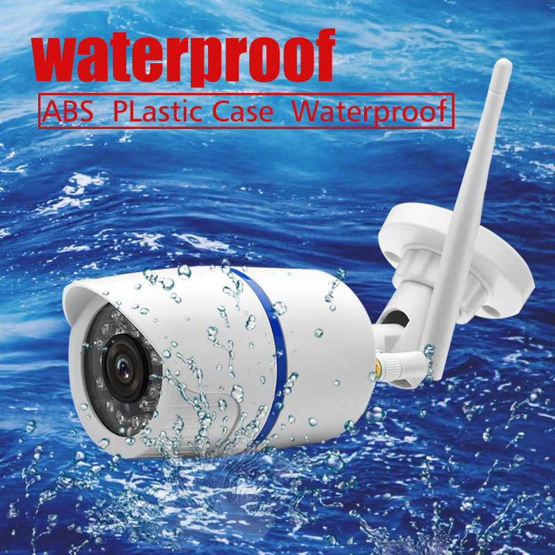 720P 1080P Wifi Indoor Outdoor IP Camera  Bullet Security Camera Wireless CCTV Surveillance Waterproof Camera Camhi APP Audio