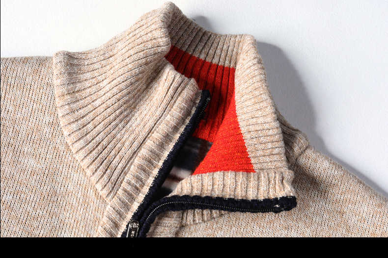 Strickjacke Homme Pullover Winter Herren kleidung Feste Männliche Herbst Mode Fit Dick Schlank Halten Warme Männer Solide Smart Casual Pullover