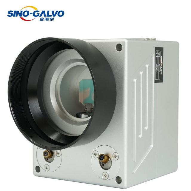 משלוח חינם SINO GALVO SG7110 SG7110A 1064nm 10mm לייזר גלונומטר Galvo סורק Galvo ראש עבור סיבי לייזר סימון מכונת