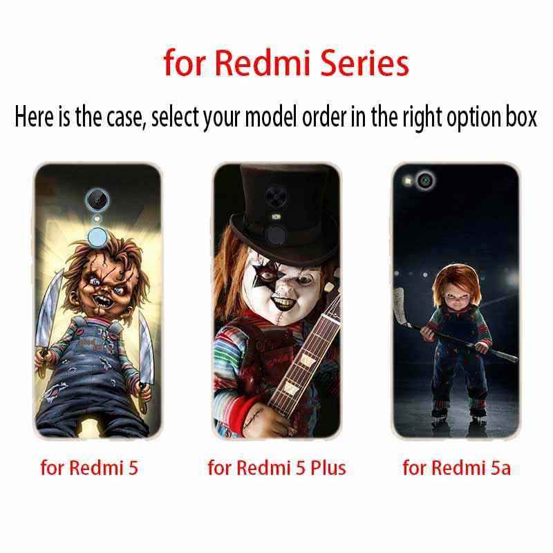 Case untuk Xiaomi Redmi Note 8 7 6 5 Pro Cover Redmi 7A 6A S2 5A 5 Plus 4A 4X k20 Pro Charles Lee Ray Chucky Boneka