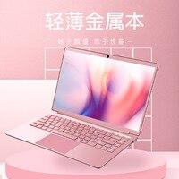 Funhouse New Celeron N4100/N3450/N3455 14 Inch Ultra Thin Laptop All Metal Student Office Gaming Laptop Computer Free Laptop Bag