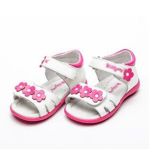 Super Qualität 1 paar weiß mädchen Orthopädische Echtem Leder NEUE Kinder Sandalen, Kinder Baby Weiche Sohle Schuhe