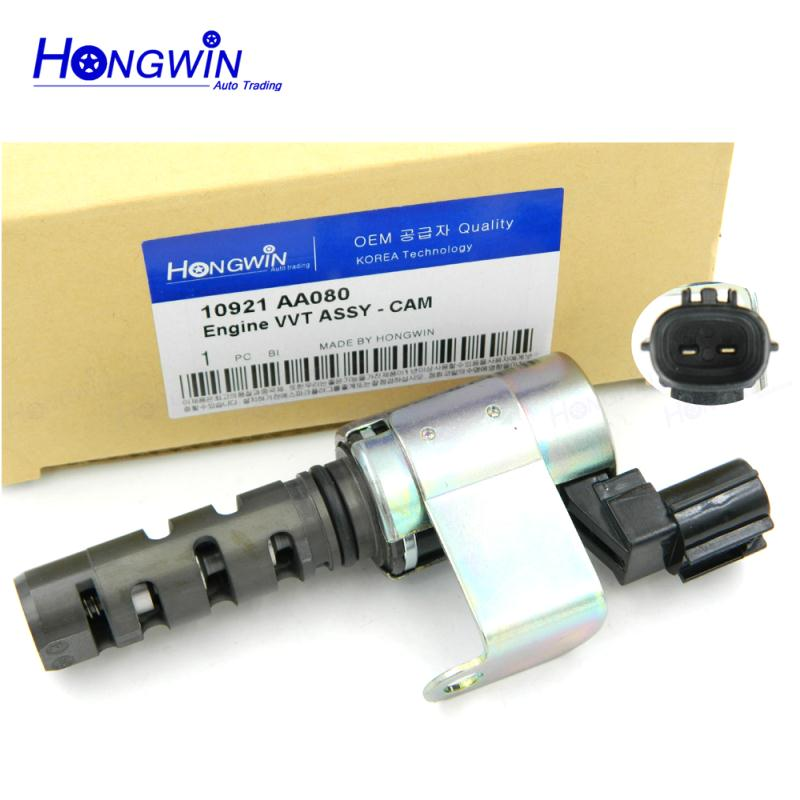 Genuine No  10921AA080 Oil Control Valve VVT Variable Timing Solenoid Fits Subaru Forester Impreza Legacy Outback H4 2 5L 06-10