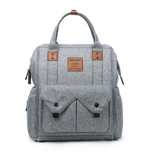 Bolso de mamá portátil de viaje multifuncional bolso de bebé impermeable de gran capacidad mochila para madres