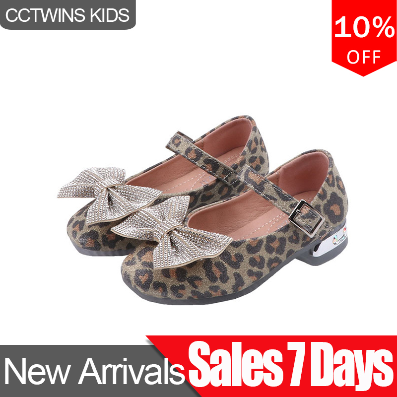 CCTWINS Kids Shoes 2020 Spring Baby Fashion Butterfly Princess Shoes Children Rhinestone Mary Jane Girls Party Flat GM2548