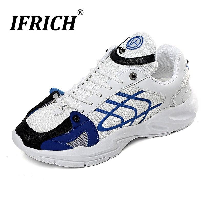 Nouveau élégant noir Orange mâle chaussures de course chaussures de Sport antidérapantes pour hommes respirant hommes baskets à lacets chaussures de Sport pour les jeunes