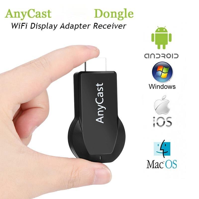 ТВ-флешка M9 Plus Anycast 1080P, беспроводной, DLNA, AirPlay, зеркальный, совместимый с HDMI, Wi-Fi дисплей, донгл-ресивер для IOS, Android, YouTube