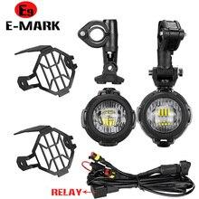 Feux antibrouillard LED pour motos, pour BMW R1250GS ADV F800GS R 1250 GS LC Yamaha MT07 MT09